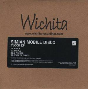 Cover - Simian Mobile Disco: Clock EP