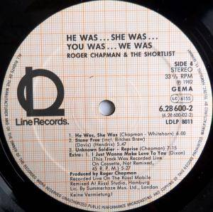 Roger Chapman And The Shortlist: He Was... She Was... You Was... We Was... (2-LP) - Bild 6