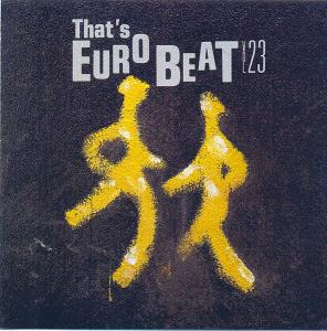 That's Eurobeat Vol. 23 - Cover