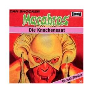 Cover - Macabros: (Europa) (10) Die Knochensaat