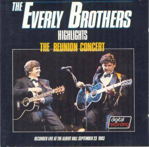 The Everly Brothers: Reunion Concert, The - Cover