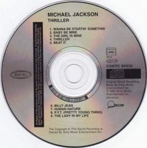 Michael Jackson: Thriller (CD) - Bild 4
