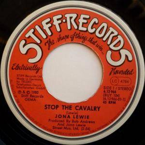 "Jona Lewie: Stop The Cavalry (7"") - Bild 3"