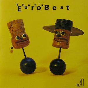 That's Eurobeat Vol. 41 - Cover