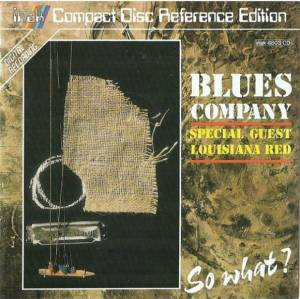 Cover - Blues Company: So What?