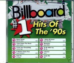 Cover - Silk: Billboard - #1 Hits Of The '90s