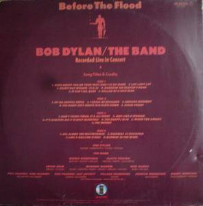 Bob Dylan & The Band: Before The Flood (2-LP) - Bild 2
