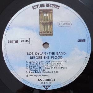 Bob Dylan & The Band: Before The Flood (2-LP) - Bild 6