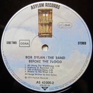 Bob Dylan & The Band: Before The Flood (2-LP) - Bild 8