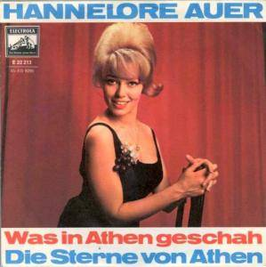 Cover - Hannelore Auer: Was In Athen Geschah