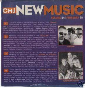 Cover - Hepcat: CMJ - New Music Volume 054