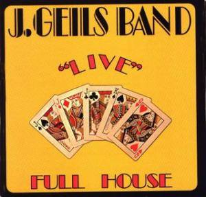 "The J. Geils Band: ""Live"" Full House - Cover"
