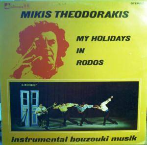 Cover - Mikis Theodorakis: My Holydays In Rodos