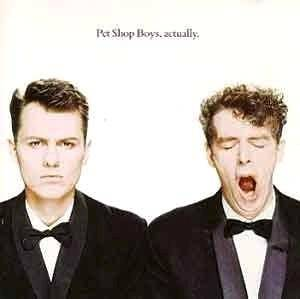 Pet Shop Boys: Actually - Cover