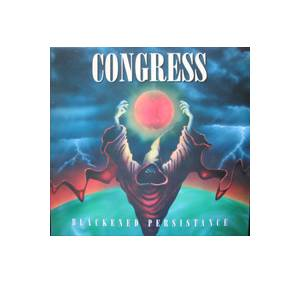 Congress: Blackened Persistance - Cover