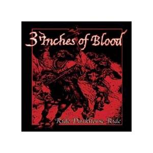 Cover - 3 Inches Of Blood: Ride Darkhorse Ride