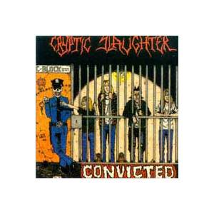 Cryptic Slaughter: Convicted - Cover