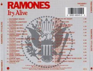 Ramones: It's Alive (CD) - Bild 3