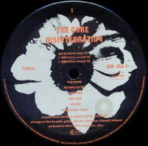 The Cure: Disintegration (LP) - Bild 3
