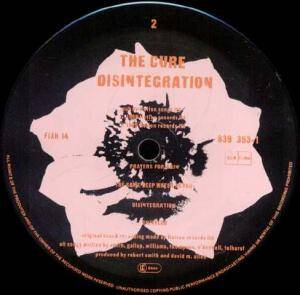 The Cure: Disintegration (LP) - Bild 4