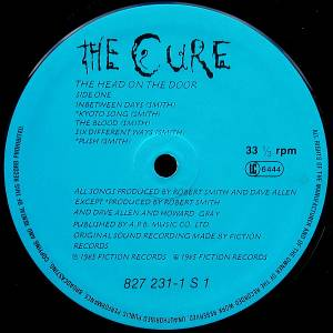 The Cure: The Head On The Door (LP) - Bild 3