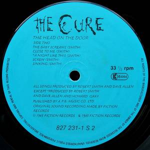 The Cure: The Head On The Door (LP) - Bild 4
