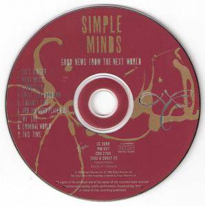 Simple Minds: Good News From The Next World (CD) - Bild 3