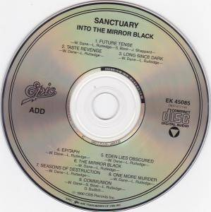 Sanctuary: Into The Mirror Black (CD) - Bild 3