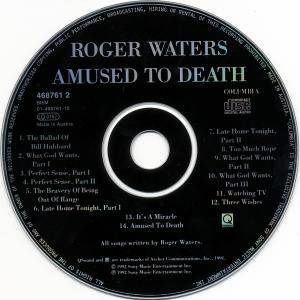 Roger Waters: Amused To Death (CD) - Bild 4