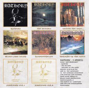 Bathory: Jubileum Volume I (CD) - Bild 4
