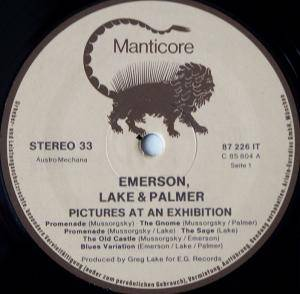 Emerson, Lake & Palmer: Pictures At An Exhibition (LP) - Bild 5
