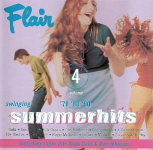 Cover - Beckie Bell: Flair '70 '80 '90 Swinging Summerhits 4