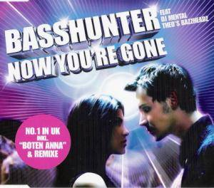 Cover - Basshunter Feat DJ Mental Theo's Bazzheadz: Now You're Gone