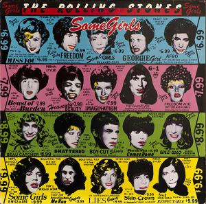 Rolling Stones, The: Some Girls - Cover