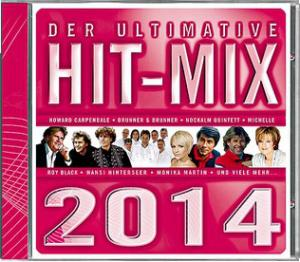 Ultimative Hit-Mix 2014, Der - Cover