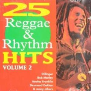 25 Reggae & Rhythm Hits Volumen 2 - Cover