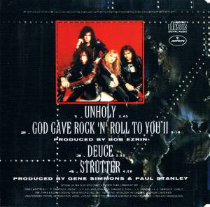 KISS: Unholy (Single-CD) - Bild 3