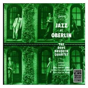 The Dave Brubeck Quartet: Jazz At Oberlin - Cover
