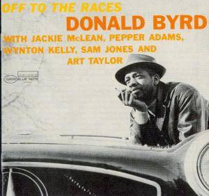 Cover - Donald Byrd: Off To The Races