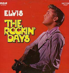 Elvis Presley: Rockin' Days, The - Cover