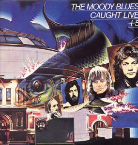 The Moody Blues: Caught Live +5 - Cover