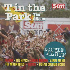 T in the Park - The Album - Cover
