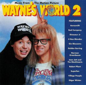 Music From The Motion Picture Wayne's World 2 - Cover