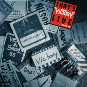 Victory: That's Live - Cover
