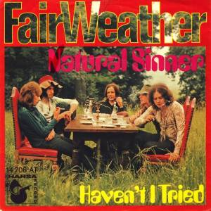 Cover - Fair Weather: Natural Sinner