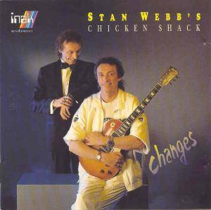 Stan Webb's Chicken Shack: Changes - Cover
