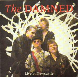 The Damned: Live In Newcastle - Cover