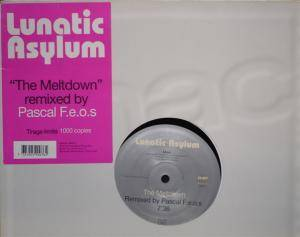 Cover - Lunatic Asylum: Meltdown, The