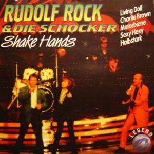 Cover - Rudolf Rock & Die Schocker: Shake Hands