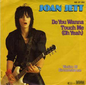 Cover - Joan Jett: Do You Wanna Touch Me (Oh Yeah)